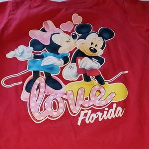 Girls disney t shirt